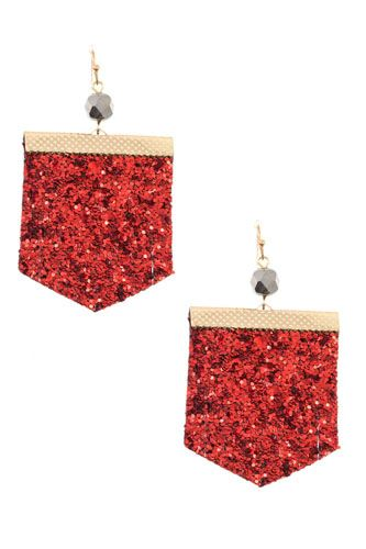 Sequin fashion earring-id.cc36554