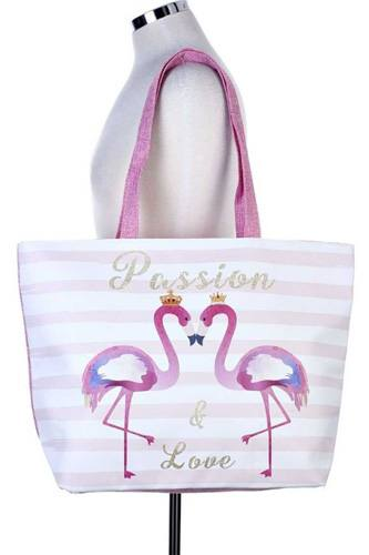 Passion & love flamingo tote bag-id.cc36614