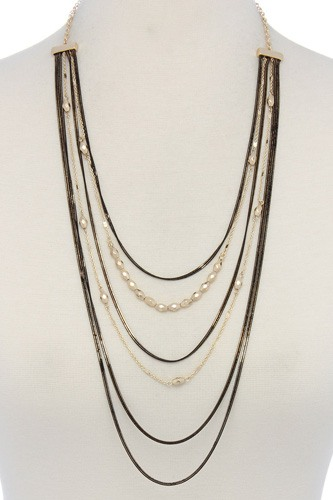Multi layered necklace-id.cc36692