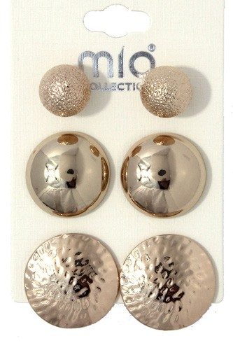 Metal earring set-id.cc36707