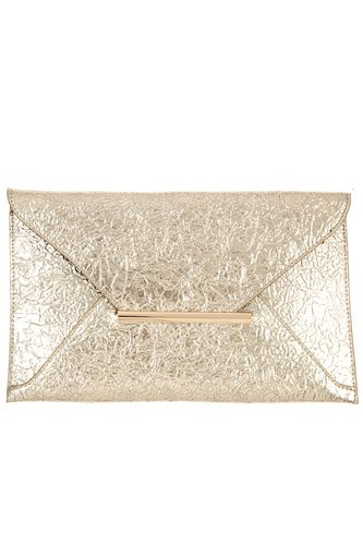 Faux wrinkled leather clutch bag-id.cc36942