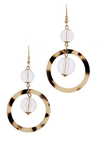 Acetate drop earring-id.cc36970