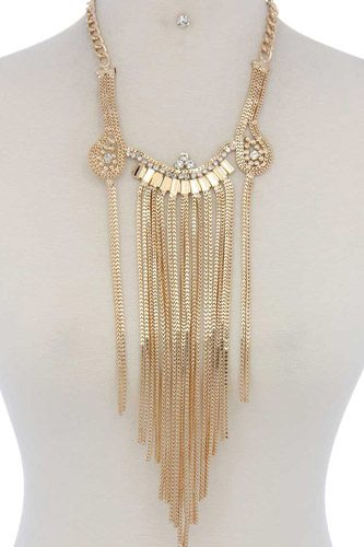 Rhinestone chunky necklace-id.cc36978