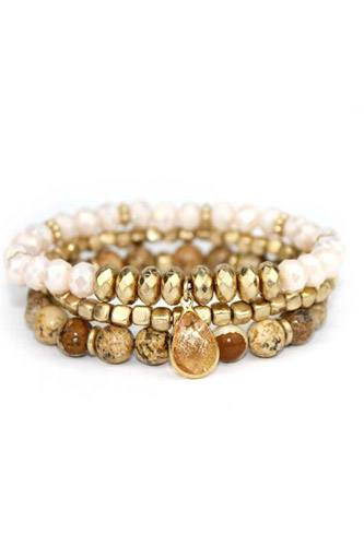 3 layers triple stretch bracelet-id.cc36984