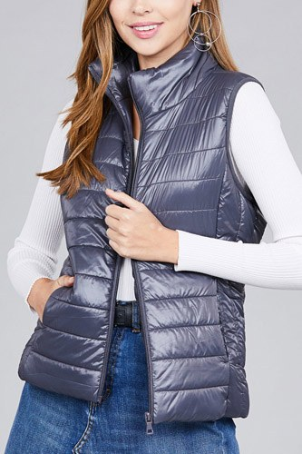 Quilted padding vest-id.cc37063b