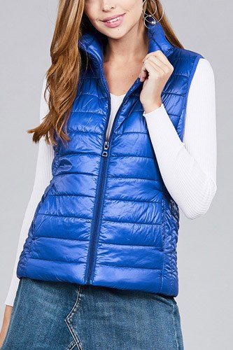 Quilted padding vest-id.cc37063g