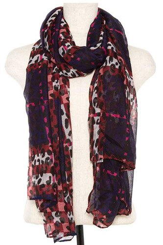 Animal print scarf -id.cc37075