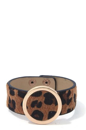 Animal print bracelet-id.cc37098