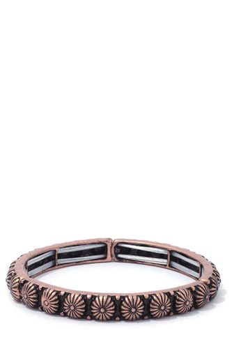 Metal stretch bracelet-id.cc37238