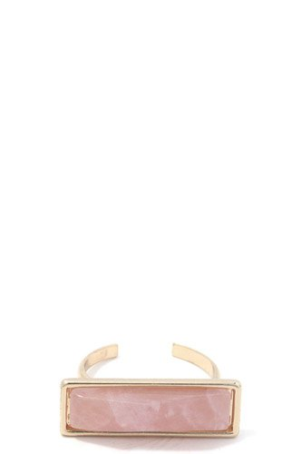 Rectangular stone cuff ring-id.cc37263