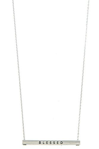 Blessed bar pendant necklace-id.cc37296