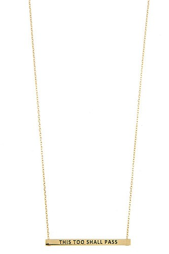 This too shall pass bar necklace-id.cc37299
