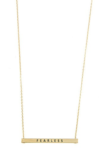 Fearless bar necklace-id.cc37301