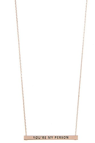 Youre my person bar pendant necklace-id.cc37303