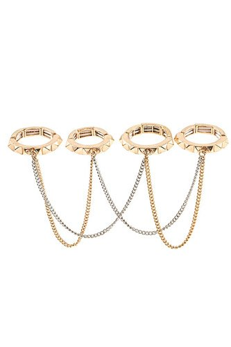 Draped chain ring set-id.cc37331