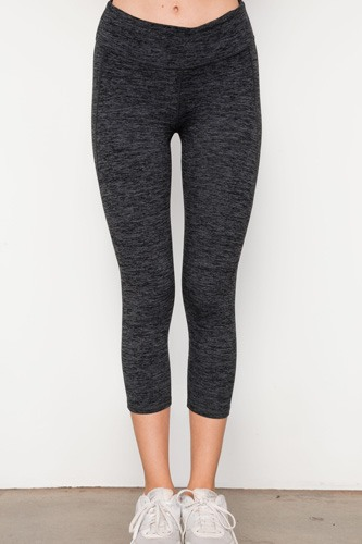 Grey athletic capri leggings-id.cc37340