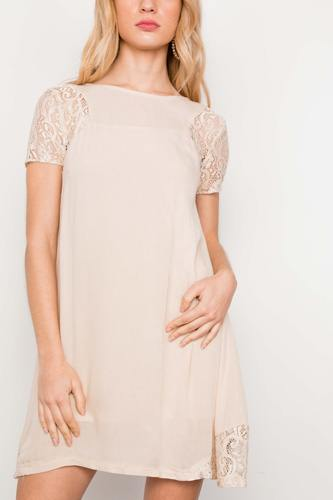 Lace short sleeves dress tunic boho-id.cc37343a