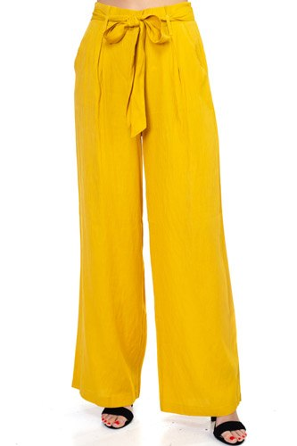 Belted wide leg pants-id.cc37354
