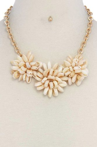 Chunky shell necklace-id.cc37506