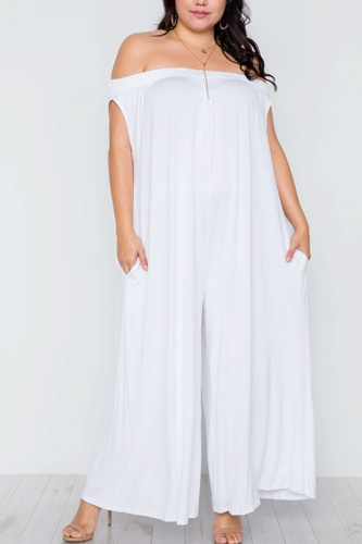 Plus size basic off-the-shoulder jumpsuit-id.cc37552a