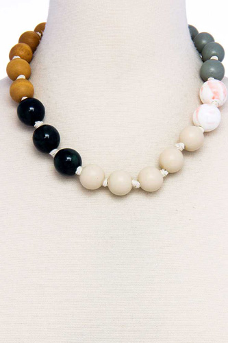 Modern fashion big bead necklace-id.cc37576