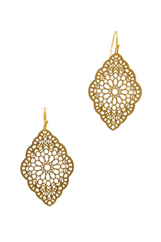 Stylish filigree chic drop earring-id.cc37589