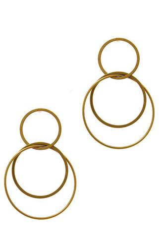 Multi hoop drop earring-id.cc37592