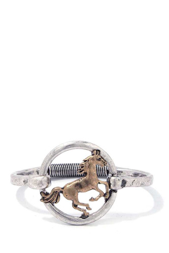 Fashion stylish horse bracelet-id.cc37600