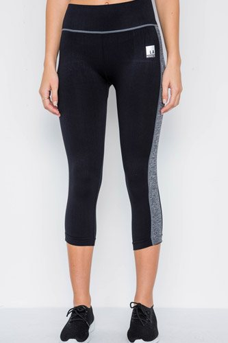 Contrast stripe active sporty leggings-id.cc37763a