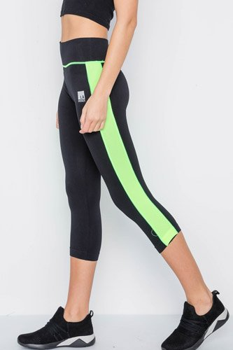 Contrast stripe active sporty leggings-id.cc37763b