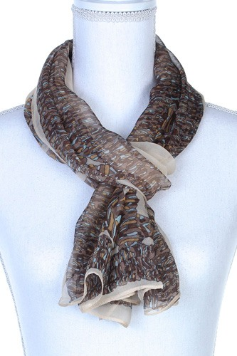 Colorful pattern oblong scarf-id.cc37784