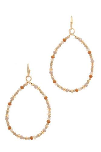 Beaded drop earring-id.cc37872
