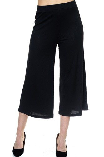 Solid wide leg pants-id.cc37992