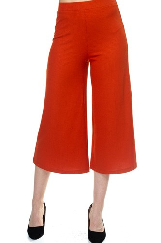 Solid wide leg pants-id.cc37992b