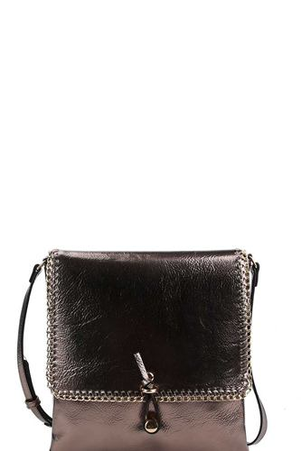 Designer trendy chained crossbody bag-id.cc38534