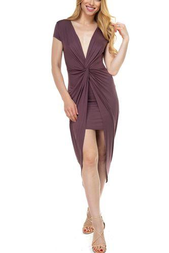 949423cde4e5 Ladies fashion blush high neck open back mini dress-id.CC34950