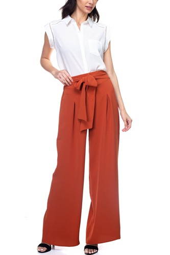 Belted pleated palazzo pants-id.cc38713a