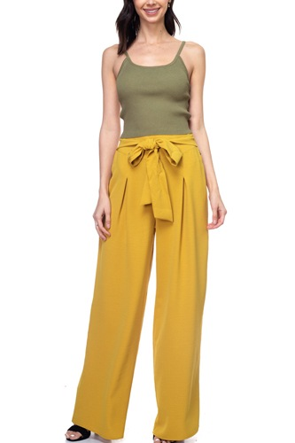 Belted pleated palazzo pants-id.cc38713c