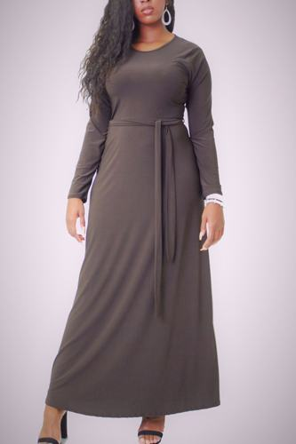 Solid, maxi dress-id.cc38729