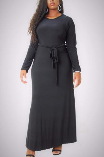 Solid, maxi dress-id.cc38729a