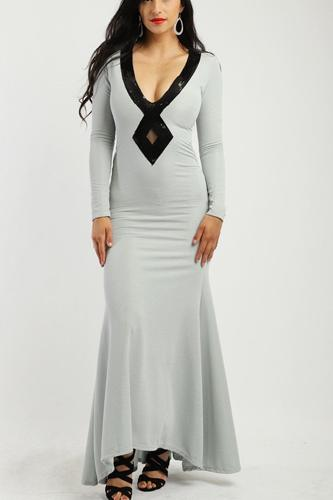 Solid, long elegant dress-id.cc38734
