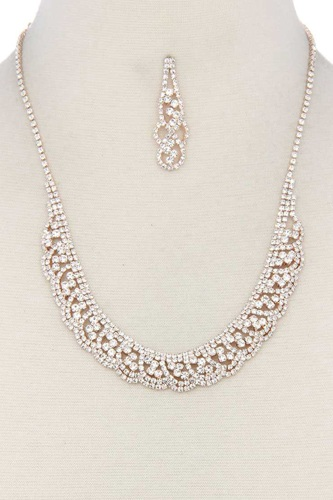 Rhinestone necklace-id.cc38764