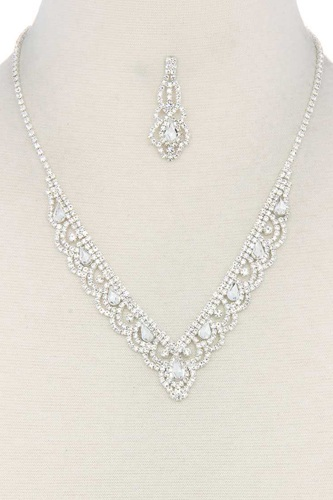 Rhinestone necklace-id.cc38765