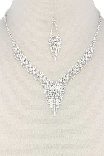 Rhinestone necklace-id.cc38766