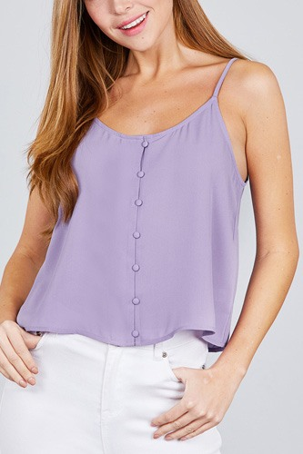 Front button cami woven top-id.cc38846b