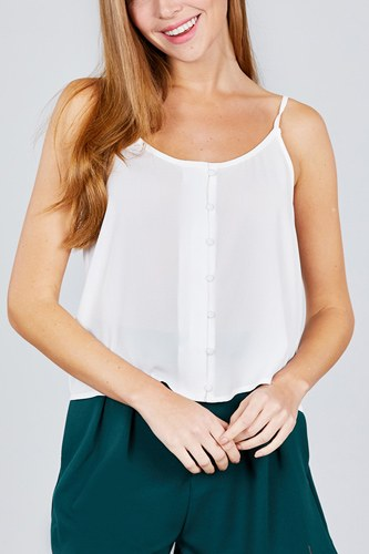 Front button cami woven top-id.cc38846c