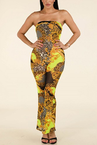 Printed mesh tube jumpsuit-id.cc38939a