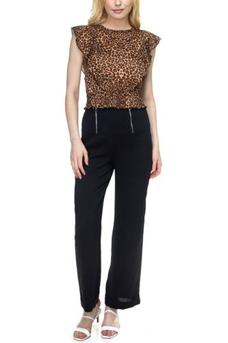 Double o-ring zipper up pants-id.cc38947