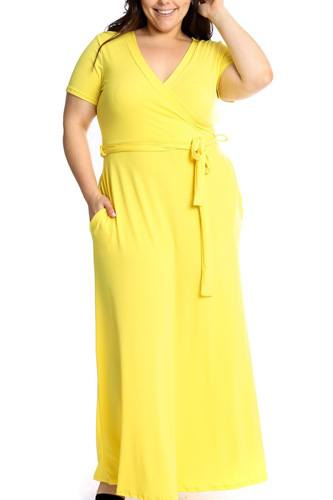 Waist tie breathable summertime maxi dress-id.cc39063g