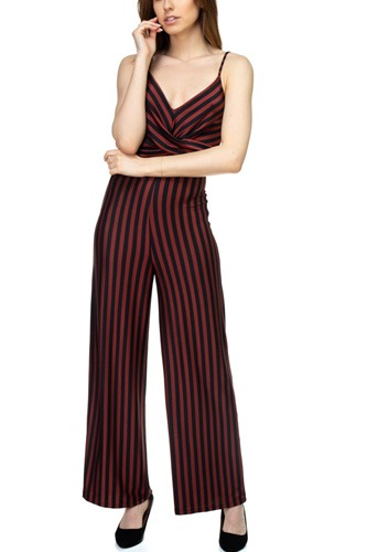 Stripe front twist jumpsuit-id.cc39129c